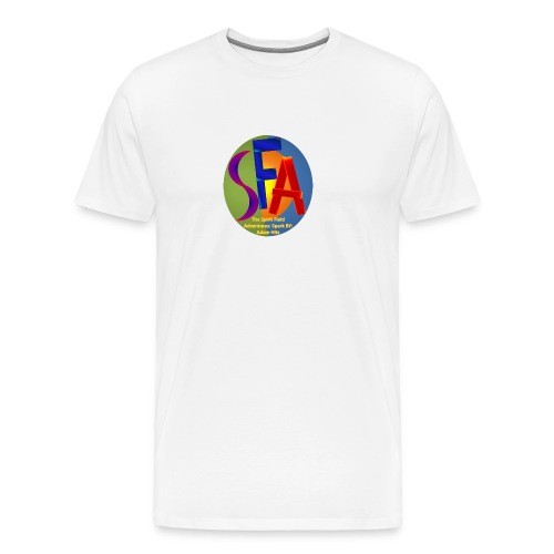The Spirit Field Adventures: Spark By: Adam Hitz - Men's Premium T-Shirt