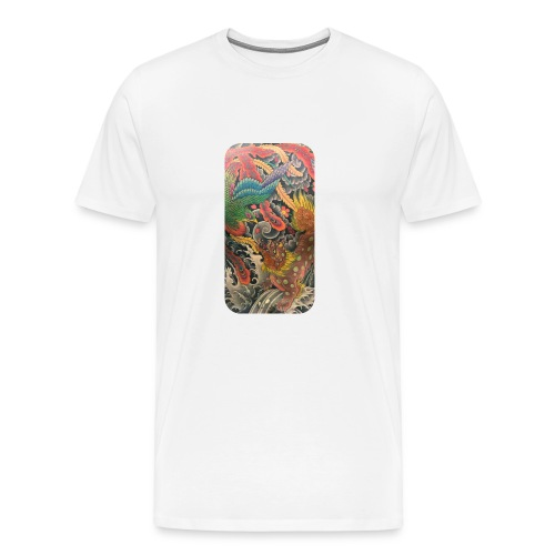 Japanese art - Men's Premium T-Shirt