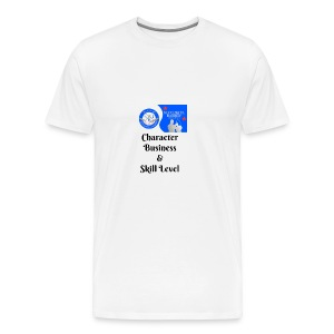 Character, Business & Skill Level - Men's Premium T-Shirt
