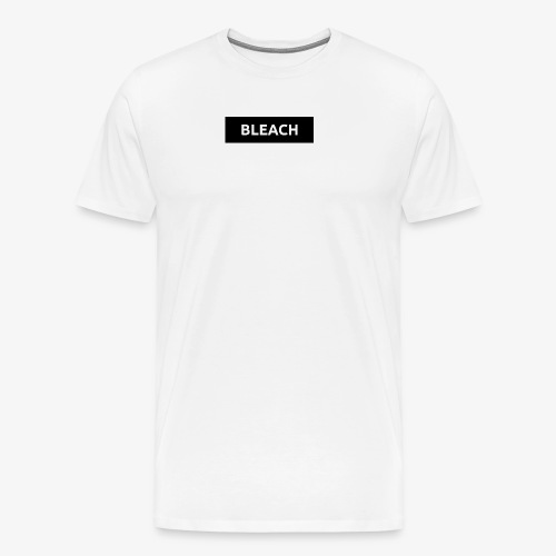 Black Bleach Surpreme Logo - Men's Premium T-Shirt