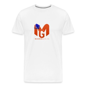 MaddenGamers MG Logo - Men's Premium T-Shirt