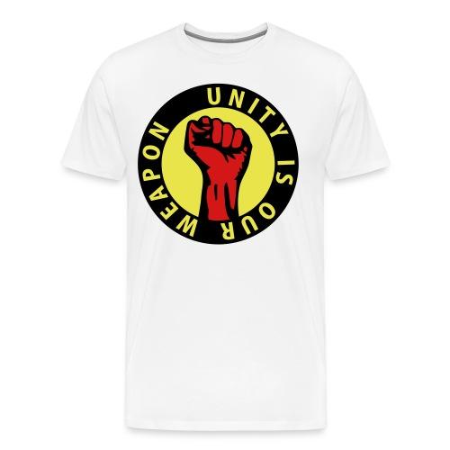 Unity is our weapon - Men's Premium T-Shirt