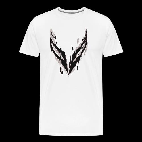 Glitched Logo - Men's Premium T-Shirt
