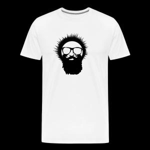 Wild Eskimo Basic Head Logo - Men's Premium T-Shirt