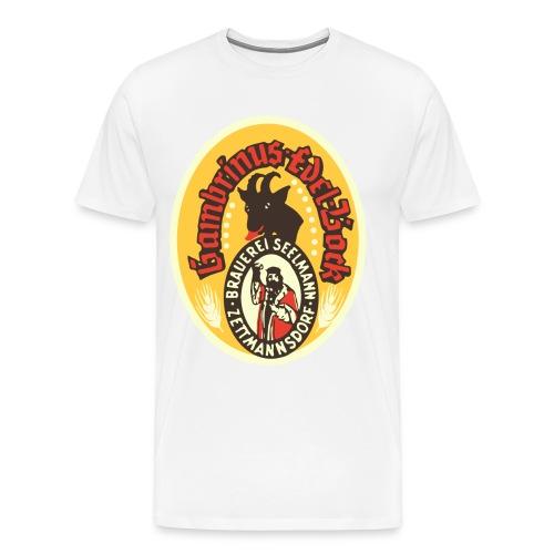 Bockbeer Logo 1957 - Men's Premium T-Shirt