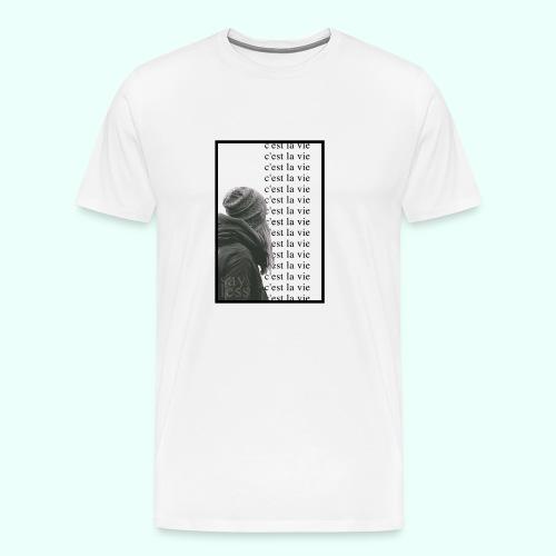 c'est la vie   repeat - Men's Premium T-Shirt