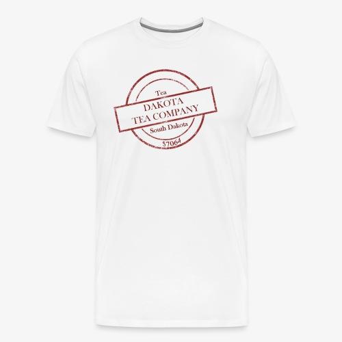 Dakota Tea Company red - Men's Premium T-Shirt