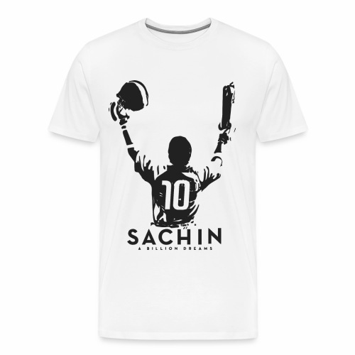 SACHIN- A billion dreams - Men's Premium T-Shirt