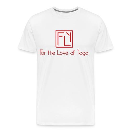 For the Love of Yoga - Men's Premium T-Shirt