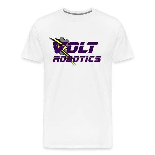 VOLT Robotics Purple Logo - Men's Premium T-Shirt