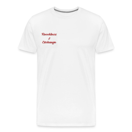 Reccklezz Exchange red - Men's Premium T-Shirt