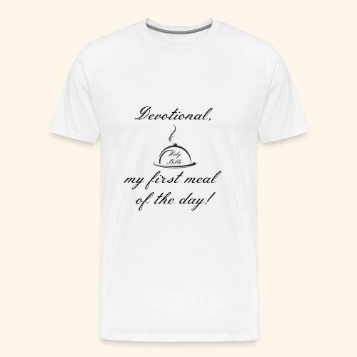 Devotional - Men's Premium T-Shirt