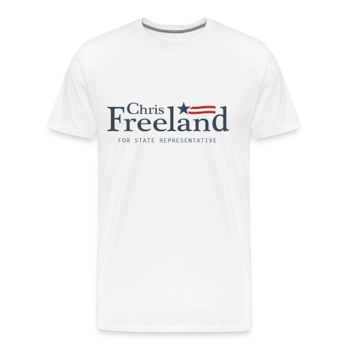 FREELAND FOR STATE REP - Men's Premium T-Shirt