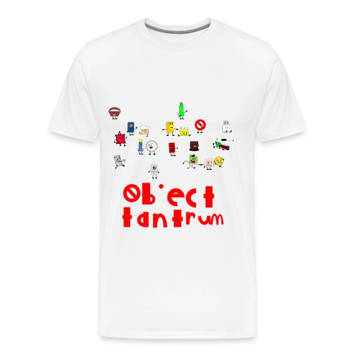 object tantrum cast - Men's Premium T-Shirt