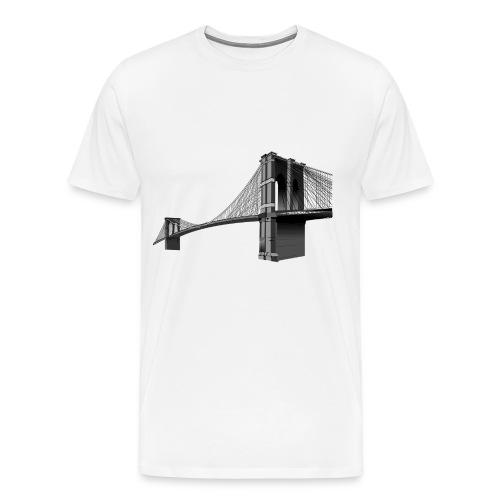 The Brooklyn Bridge - Men's Premium T-Shirt