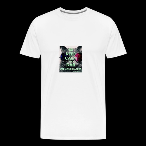 keepcalmanddabonyourhaters - Men's Premium T-Shirt