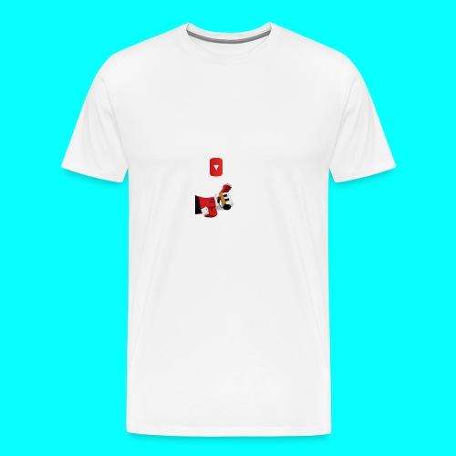 Protector para móvil iphone (MauroDuck - Men's Premium T-Shirt