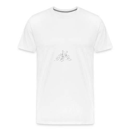 shri ganesh - Men's Premium T-Shirt