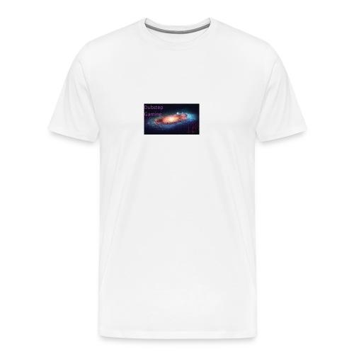 Dubstep Gaming Galaxy Design - Men's Premium T-Shirt