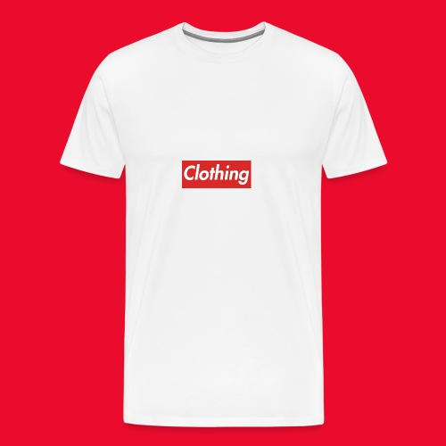 clothing box logo - Men's Premium T-Shirt