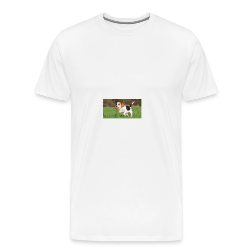 23695 pets vertical store dogs small tile 8 CB312 - Men's Premium T-Shirt
