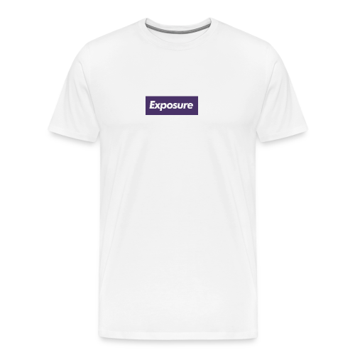 Exposure Bogo Purple - Men's Premium T-Shirt