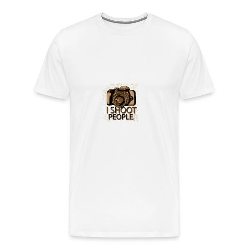 I shoot people - Men's Premium T-Shirt