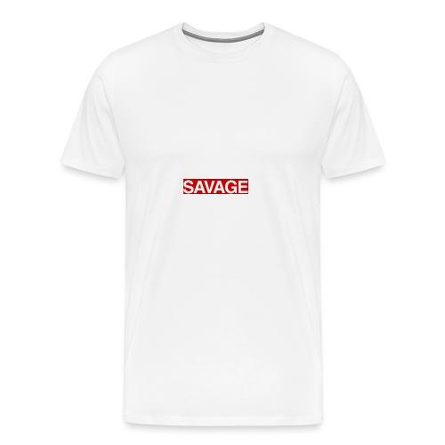savage news - Men's Premium T-Shirt