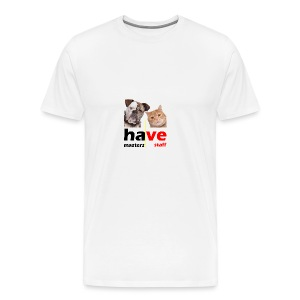 Dog & Cat - Men's Premium T-Shirt