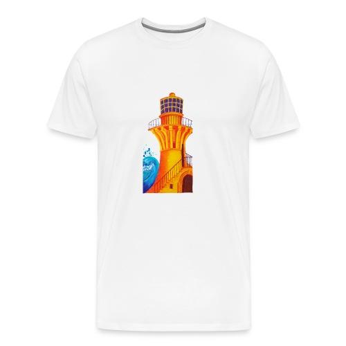 Golden Light - Men's Premium T-Shirt