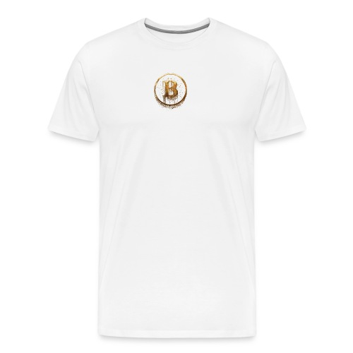 cryptocurrency 3146112 1920 - Men's Premium T-Shirt