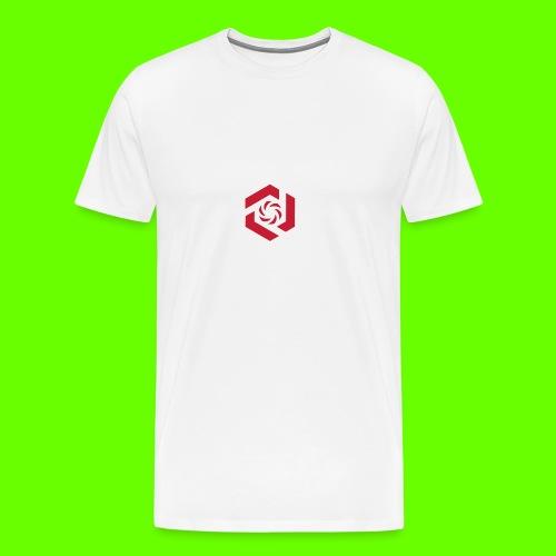 Temporary Logo Design - Men's Premium T-Shirt