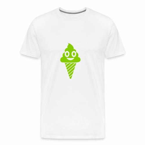 Smiling Ice Cream - Men's Premium T-Shirt