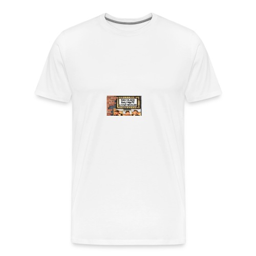 Key Lewis; Marquee - Men's Premium T-Shirt