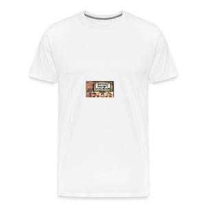 Key Lewis; Marquee - Men's Premium T-Shirt