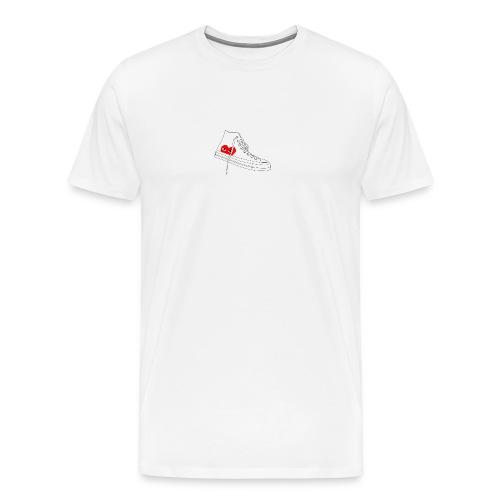 Converse Shoe Logo - Men's Premium T-Shirt