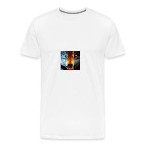 The triple wolf - Men's Premium T-Shirt