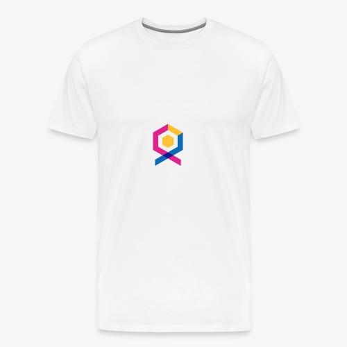 geometric abstract - Men's Premium T-Shirt