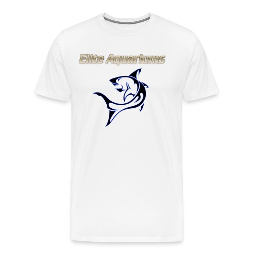 Elite Aquariums Shark - Men's Premium T-Shirt
