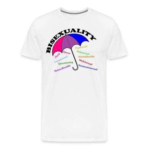 Bi+ Umbrella - Men's Premium T-Shirt
