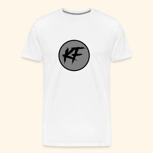 KF-Circle Logo - Men's Premium T-Shirt