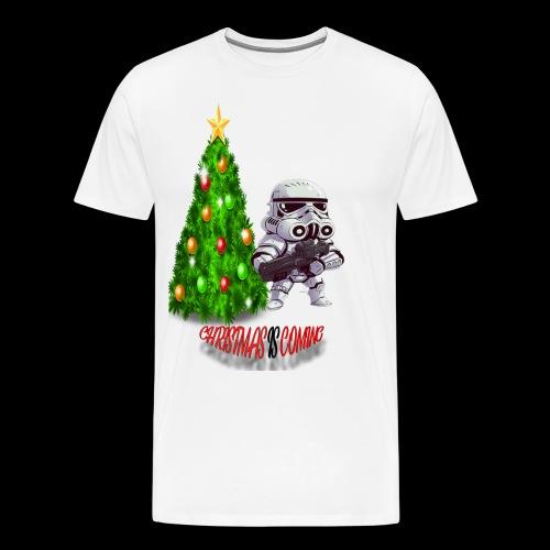 StarWars #ChristmasIsComing - Men's Premium T-Shirt