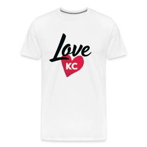 LoveKC Logo Final color - Men's Premium T-Shirt