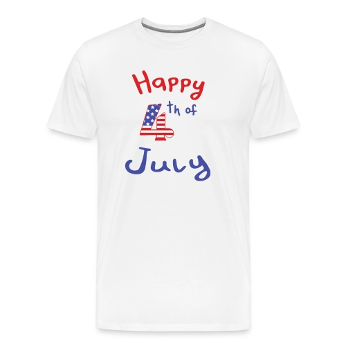 happy 4th of July - Men's Premium T-Shirt