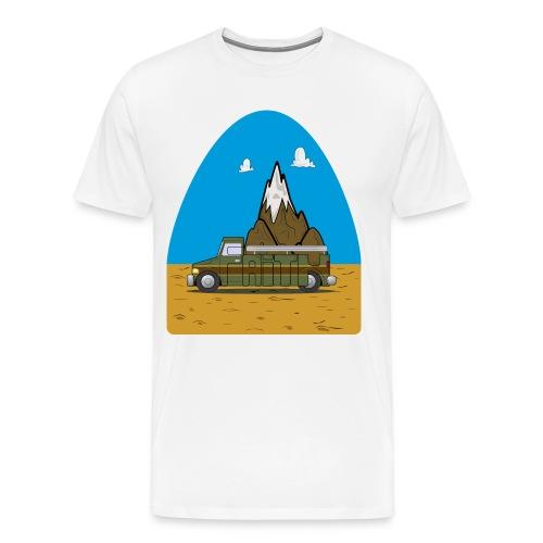 faith moves mountains 2018 - Men's Premium T-Shirt