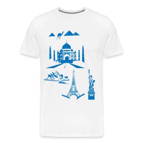 The wonders of the world - Men's Premium T-Shirt