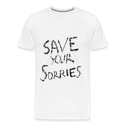 Save Your Sorries - GLAAD - Men's Premium T-Shirt