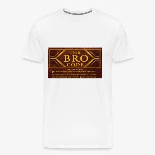 barney stinson how i met your mother the bro code - Men's Premium T-Shirt