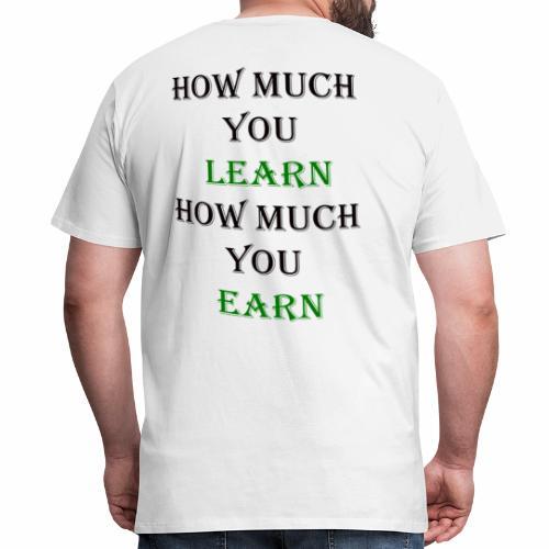T-Shirt Back To school Motivation Back To School - Men's Premium T-Shirt