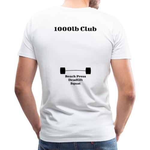1000lb Club - Men's Premium T-Shirt